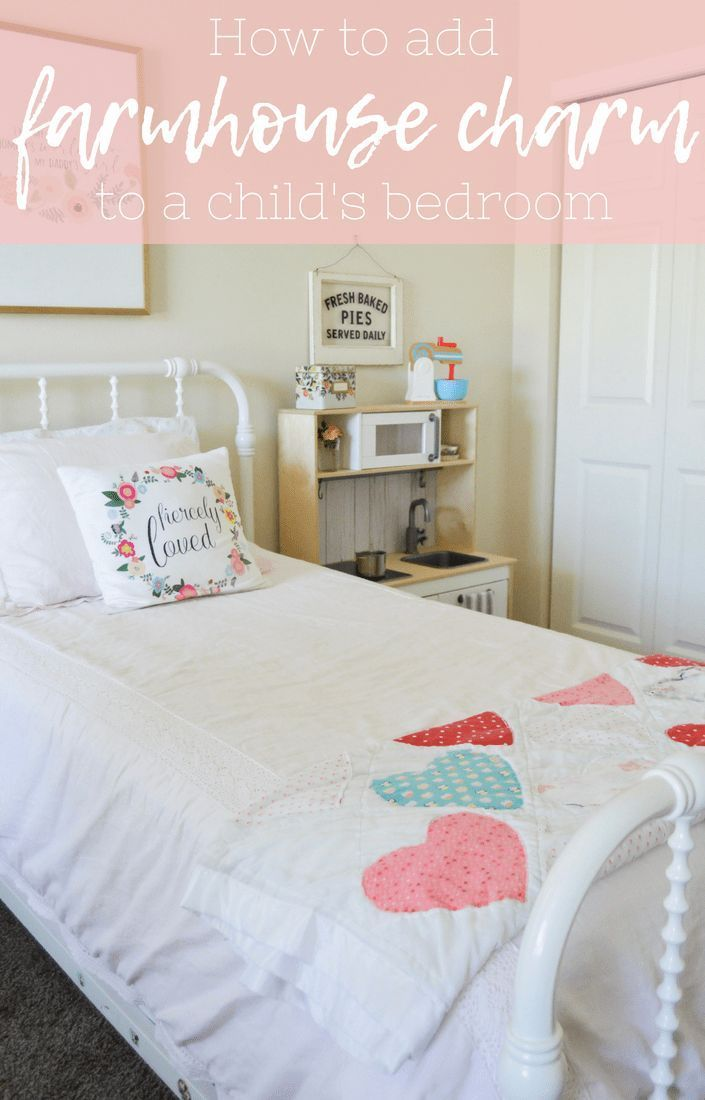 How to add farmhouse charm to a child\'s bedroom, toddler ...