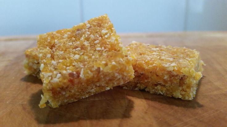 Natalie's 3 Ingredient Apricot Squares