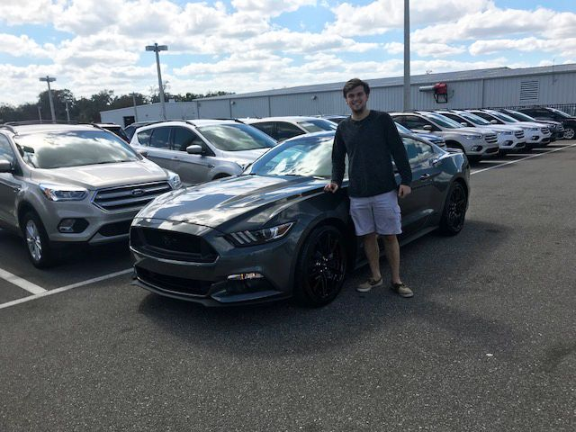 It Is So Exciting When We Hear That A Customer Had A Great Time Buying A Car With One Of Our Salesman Hank Haws Mr Ryan I 2017 Ford Mustang Lakeland