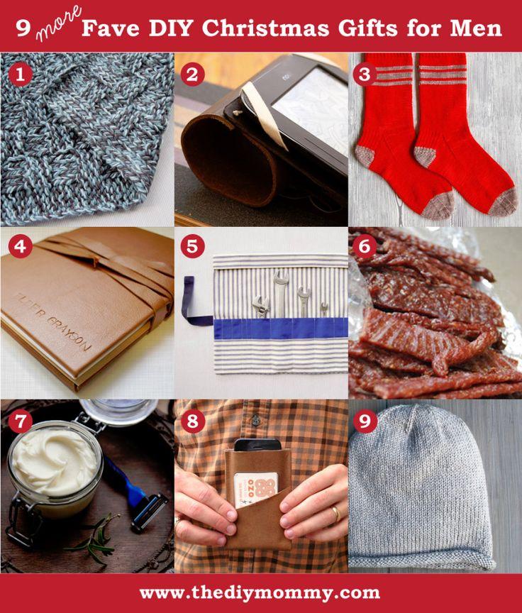 Present ideas for men, Handmade christmas and For men on Pinterest