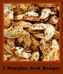 Roasted pumpkin seed recipes...yummy, nutritious and a great way to use part of the pumpkin most people throw away.