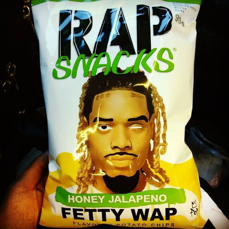 WHAT WILL THEY THINK OF NEXT : Whole new meaning to Wrapper!! #fettywap #jalapeno #honey #90sslogan #90scommercial #rapchips #wrapper #rapper #tasty #noveltyfood #welshrighz #marketing