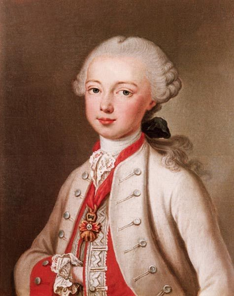 Jean-Étienne Liotard, 1702-1789. Leopold II (1747-92) Holy Roman Emperor and Gr…
