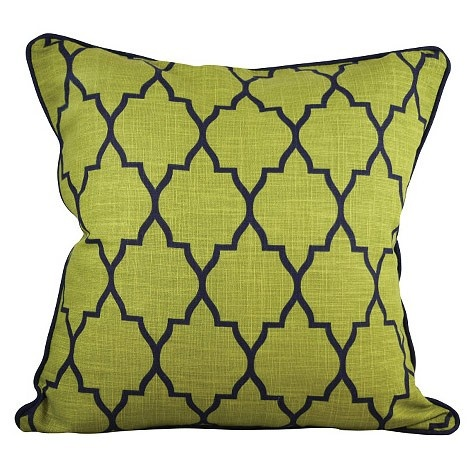 Green Zanzibar Cushion - One Duck Two - on Temple & Webster today.  www.templeandwebster.com.au