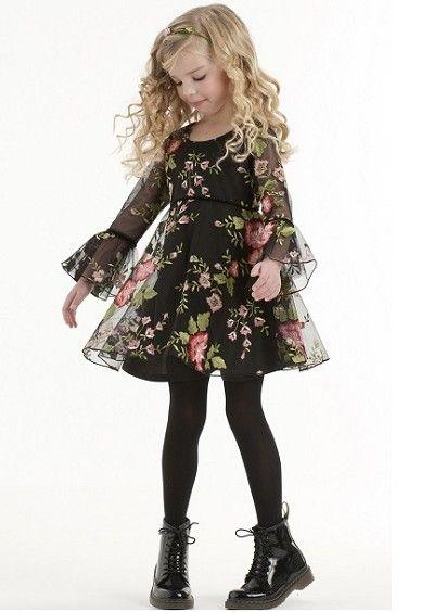 Biscotti Midnight Garden Empire Waist Dress *Preorder*