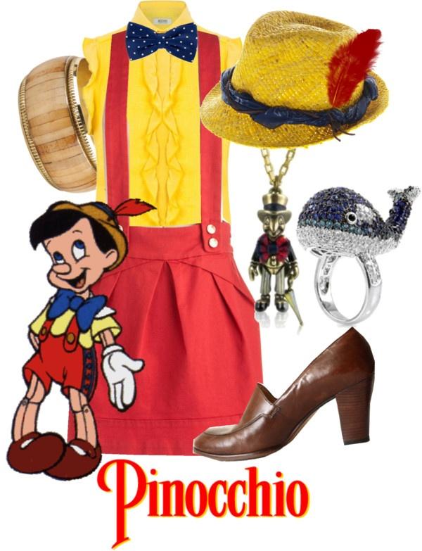 """Pinocchio"" by princesschandler on Polyvore"
