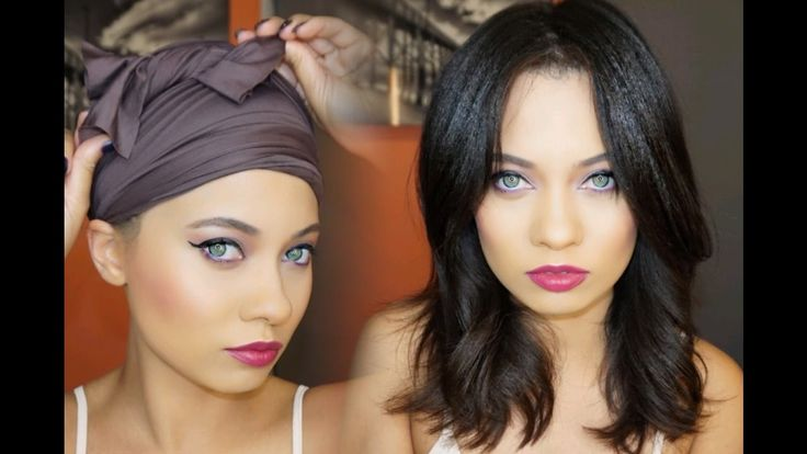 HOW TO WRAP YOUR HAIR & KEEP IT STRAIGHT OVERNIGHT! | Hair ...