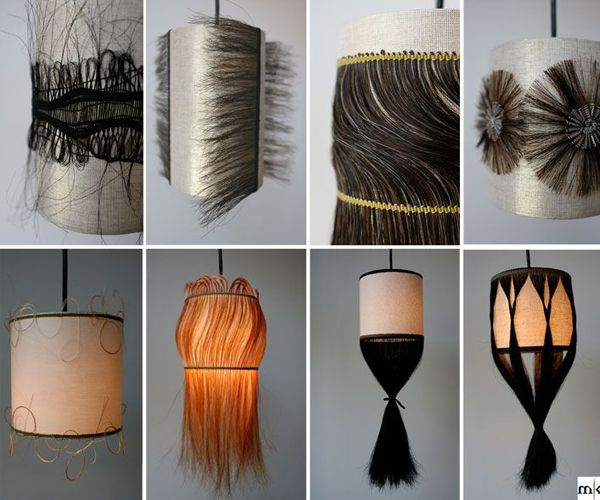 Textiel kunstenaar Marianne Kemp specialiseert in weven met paardenhaar.