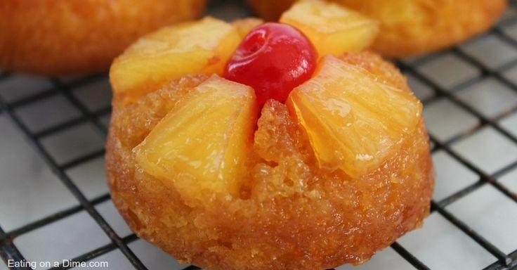 pineapple upside down cupcakes facebook image