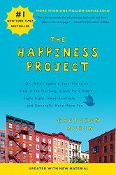 """Gretchen Rubin woke up one morning and decided that she wasn't as happy as she knew she was capable of being. Thus, she started a 12 month long self titled """"Happiness Project,"""" in which she shows you how it's possible to take action steps toward being more happy. I loved this book because it was more of a personal narrative than a psychology textbook, which are less common among the traditional research-filled self-help books. Rubin will inspire you to dive into what makes you personally…"""