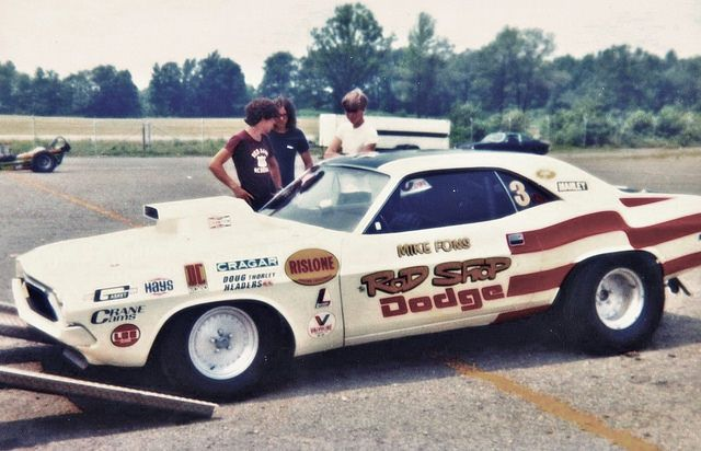 Pro Stock Challenger : Rod shop challenger mike fons driving pro stock