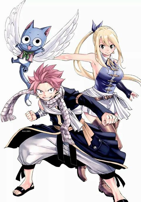 Best 1358 the ones i love fairy tail collection images on pinterest other - Fairy tail lucy et natsu ...