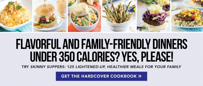 Skinny Suppers Cookbook - Weightloss