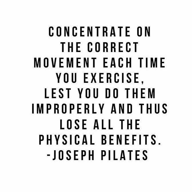 Concentrate | Joseph Pilates