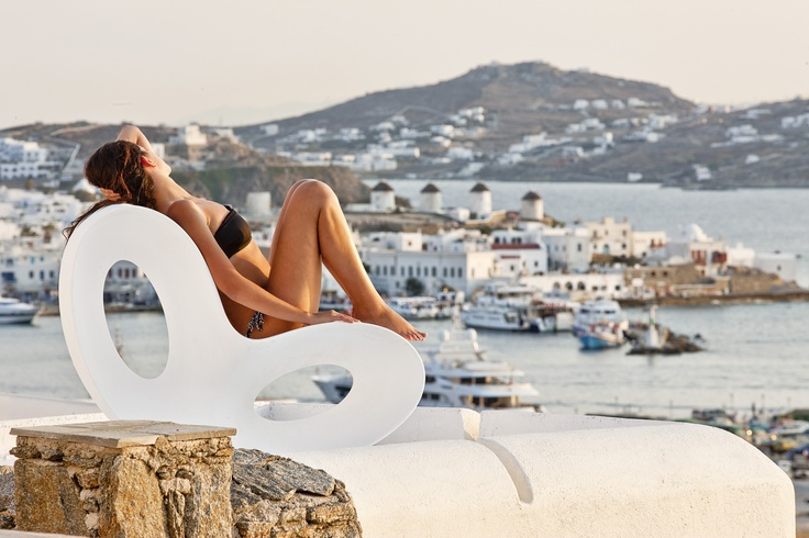 GREECE CHANNEL | Kouros, Mykonos #Water #Ocean #Beach