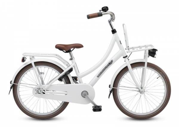 Loekie Madchenfahrrad Pick Up 20 Zoll 31cm Bremsnabe Weiss Kinderfahrrad 20 Zoll Fahrrad Kinder Fahrrad