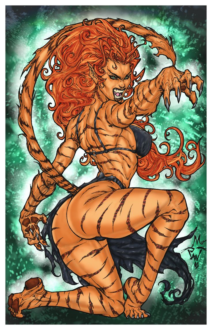 tigra by pant color by mich974 deviantart   on