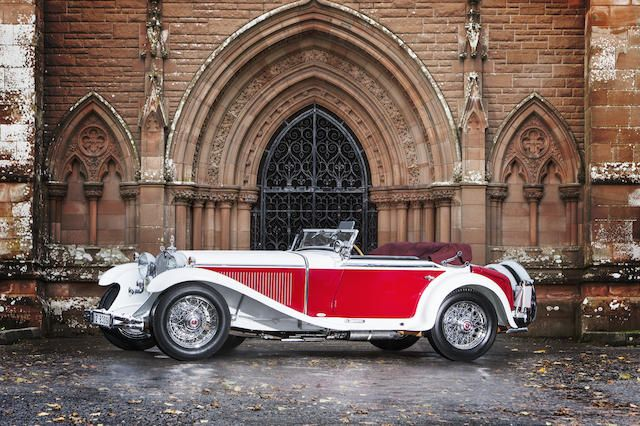 Single family ownership since 1978,1931 Mercedes-Benz 15/75 PS Mannheim 370 S Roadster  Chassis no. U 83903 Engine no. U 83903
