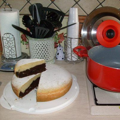 Torta bianco nera