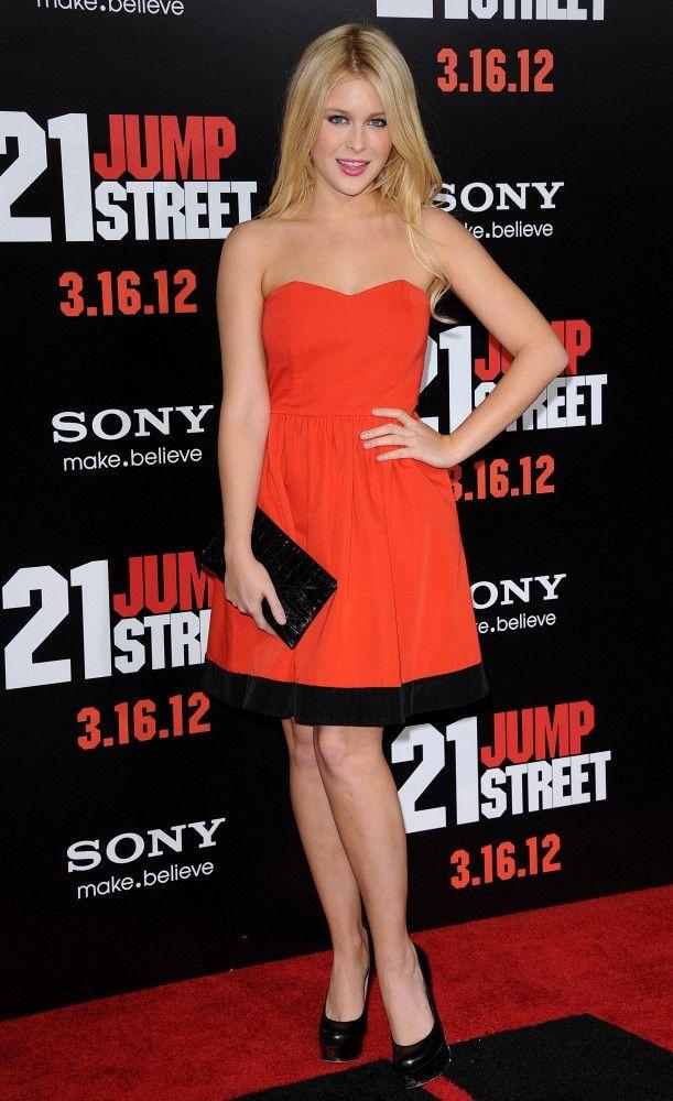 Renee Olstead Strapless Dress - Strapless Dress Lookbook - StyleBistro