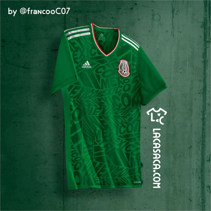 Graphic designer Franco Carabajal has created eighteen Adidas 2017 concept kits, ranging from Brazil over Germany to the United States, inspired by famous Adidas kits of the 1980s and 90s.