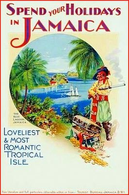 Vintage Jamaica Travel Poster...too bad the vacation prices aren't vintage too!