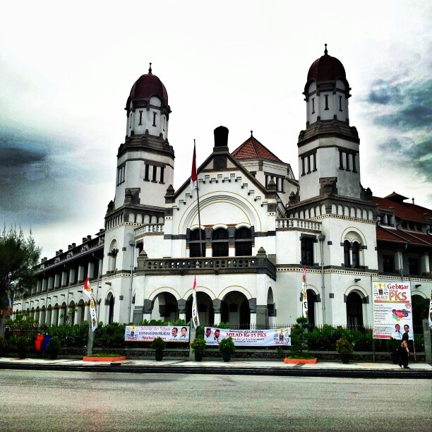 The Haunted House - Lawang Sewu in Semarang - Central Java - Indonesia #indonesia #building #architecture #house #ghost #scary #java