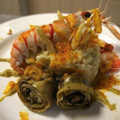 A classic Venetian risotto in celebration of Venetian Night, prepared by Chef Silvia