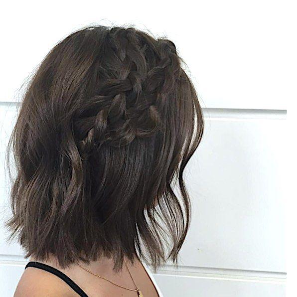 braids on short hair
