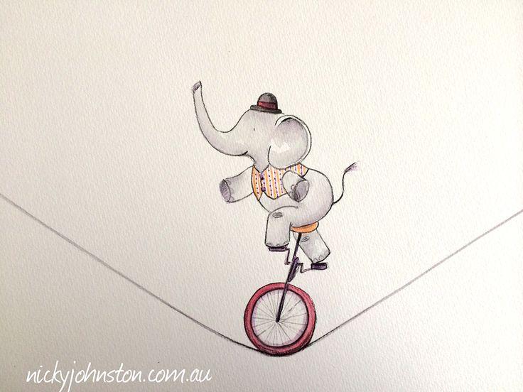 Nicky Johnston Illustration Challenge - November | Nicky Johnston www.nickyjohnston.com.au