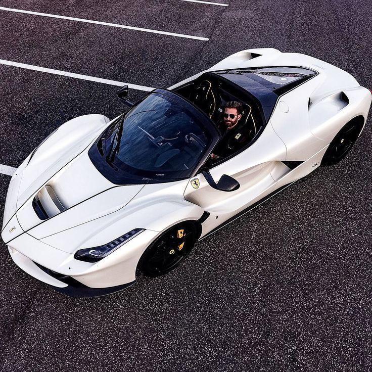 The white LaFerrari Aperta owned by Josh Cartu is simply beautiful!