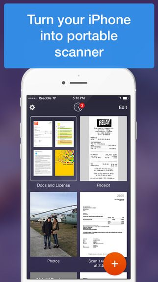 Scanner Pro - Scan any document and receipt to PDF by Readdle