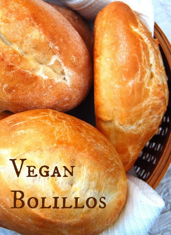 Bolillos: Mexican Rolls [Vegan]