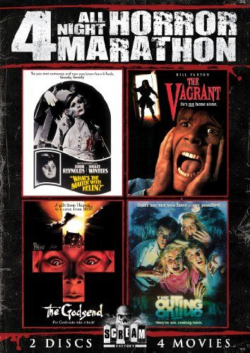 Scream Factory All Night Horror Marathon (Whats the Matter with Helen, The Vagrant, The Godsend & The Outing) Shout! Factory http://www.amazon.com/dp/B00E5S2HGS/ref=cm_sw_r_pi_dp_Rjwovb0EYW5HP