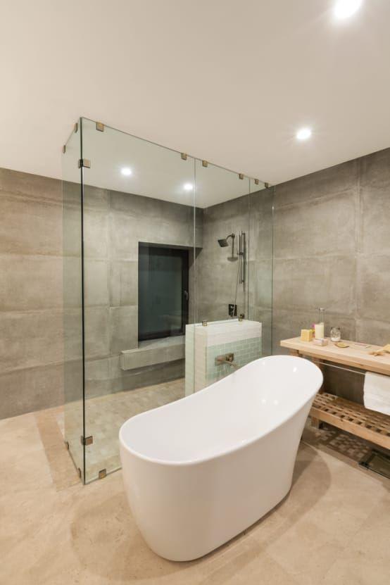 Das Badezimmer Zur Oase Machen Die Schonsten Begehbaren Duschen Homify Homify Bathroom Design Small Modern Modern Bathroom Bathroom Interior Design