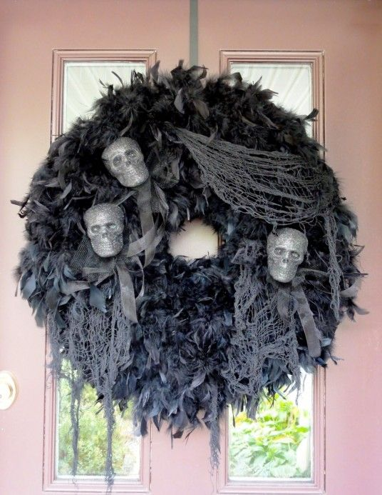 Halloween Wreaths Decor