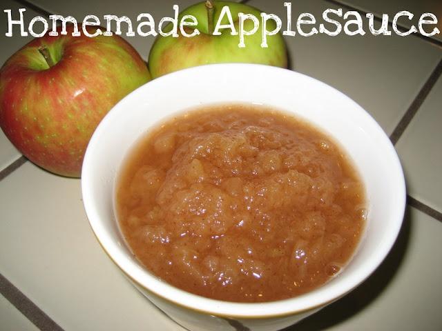 Homemade crockpot applesauce. Yummy. | eat up popeye | Pinterest