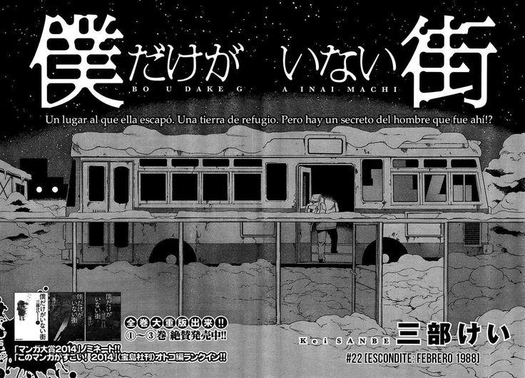 Boku dake ga Inai Machi - MANGA - Lector - TuMangaOnline