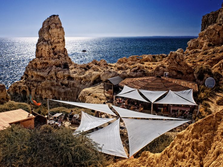Algar Seco. Carvoeiro. Algarve. Portugal