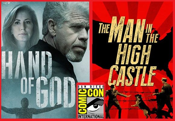 Amazon sfrutta la cornice del Comic-Con 2015 di San Diego per presentare le sue due nuove serie Hand of God e The Man in the High Castle.