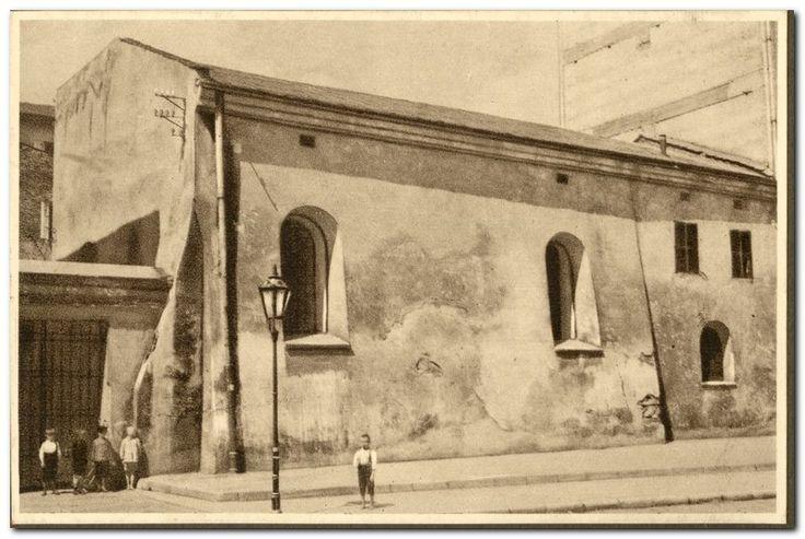 Popper Synagogue, Szeroka Street; photo from the collection of the Żyd. Akademickie Koło Miłośników Krajoznawstwa Słuchaczy UJ in Kraków, 1935