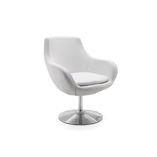 Classic White Leather Chair International Design Usa Arm Chairs Accent  Chairs Accent Furni