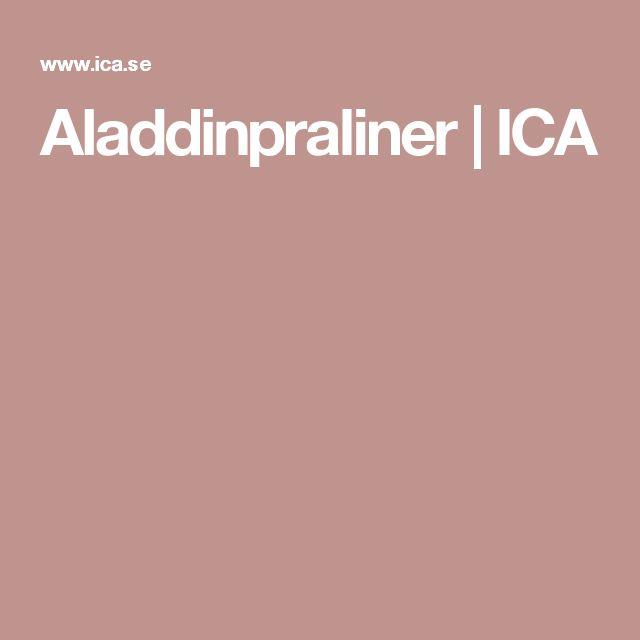Aladdinpraliner   ICA
