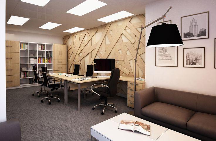 Дизайн интерьера офиса - кабинет директора и мини переговорная