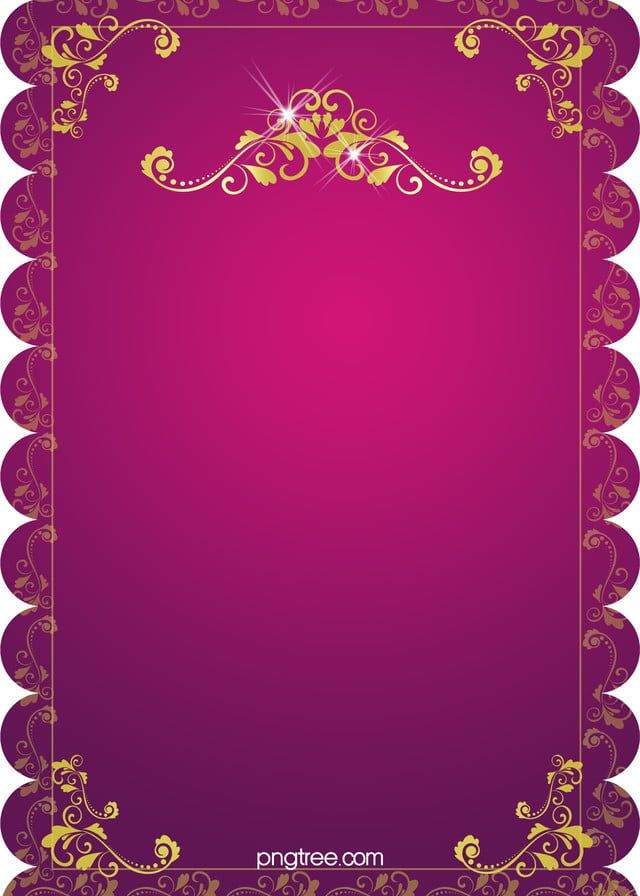 H5 Wedding Invitation Vector Background Material In 2020 With
