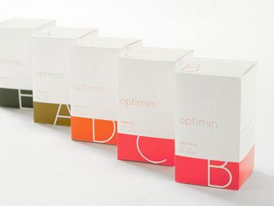 Optimin Vitamin Packaging