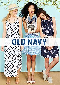35% Off Old Navy Purchase (Including Clearance) - Online Only