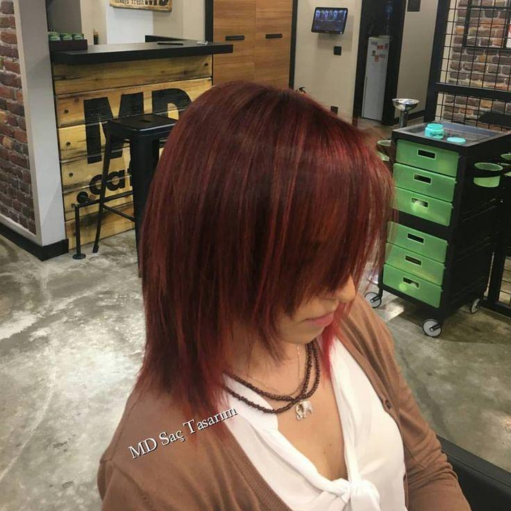 Kesim, renk ve ışıltılılar 💞💞 #kesim #renk #color #isiltilar #isiltilisaclar #hairlove #trend #sacmodelleri #izmir #kuaför #newhair #mdsactasarim #haircutting @mdmetindemir