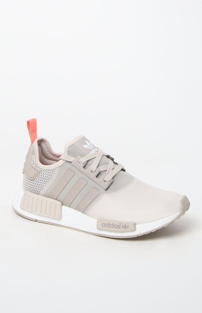 Women's NMD_R1 Brown Low-Top Sneakers