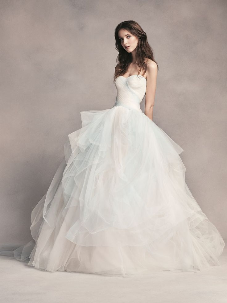 Ball Gown Wedding Dresses By Vera Wang : Best images about blue wedding on tiffany